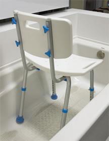 stay safe in the bathroom aquasense. Black Bedroom Furniture Sets. Home Design Ideas