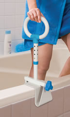 Multi-Adjust Bath Safety Rail by AquaSense