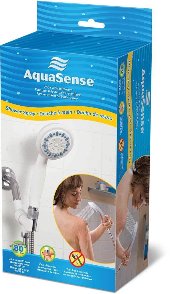 Hand Held Shower Spray, by AquaSense® – AquaSense®
