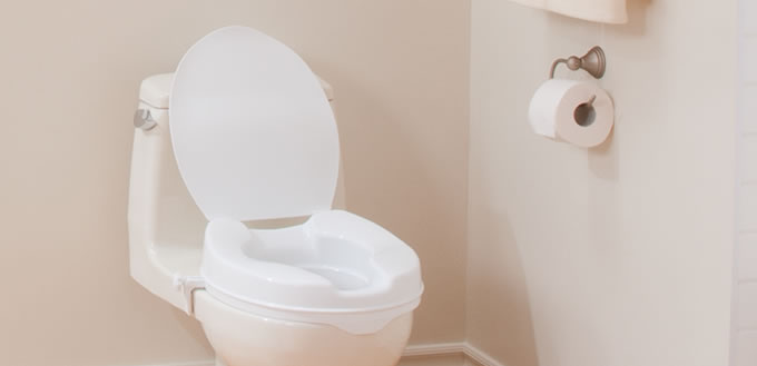 Pleasing Raised Toilet Seats With Lid By Aquasense Aquasense Spiritservingveterans Wood Chair Design Ideas Spiritservingveteransorg