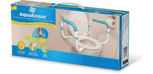 Toilet Safety Rails, by AquaSense®