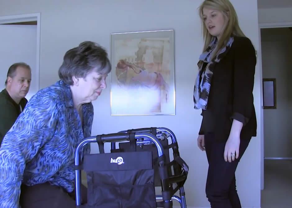 Occupational Therapist Home Visit Video Aquasense 174