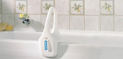 Asidero de Seguridad de Perfil Bajo, AquaSense, para Baño