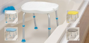 Asientos de bañera sin respaldo, de forma ergonómica, AquaSense®