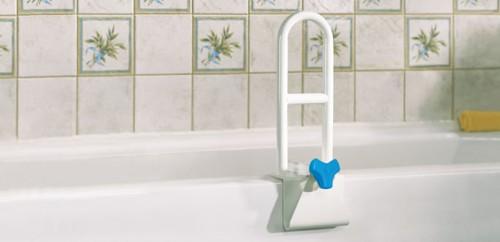 Asidero de seguridad de perfil alto aquasense para ba o for Low height bathtub