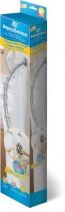 Tringle courbée pour rideau de douche, par AquaSense®