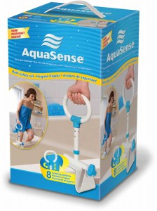Multi-Adjust Bath Safety Rail, by AquaSense®
