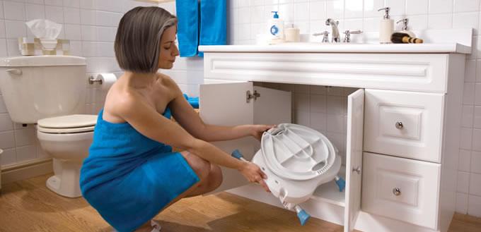 Folding Bath Seat, by AquaSense®
