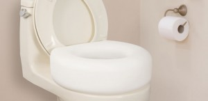 Economy Raised Toilet Seat, by AquaSense®