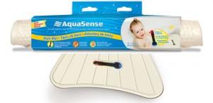 Tapete de Baño con Indicador de Temperatura Incorporado, AquaSense®