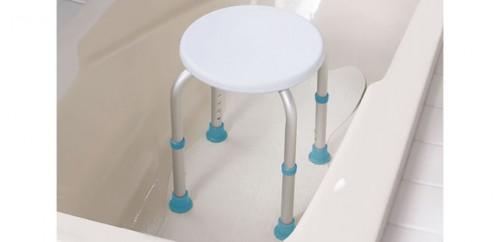 Tabouret pour le bain et pour la douche, par AquaSense®