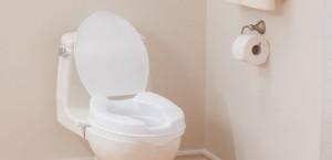 Sièges de toilette surélevés avec couvercle, par AquaSense®