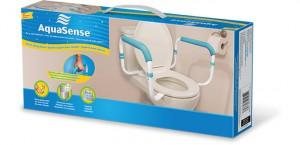 Barre d'appui pour toilette, par AquaSense®
