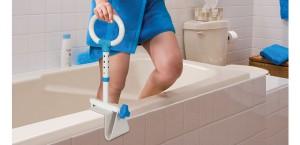 Poignée d'appui multi-ajustable pour baignoire, par AquaSense®