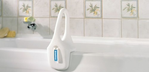 Poignée d'appui à profil bas, par AquaSense®